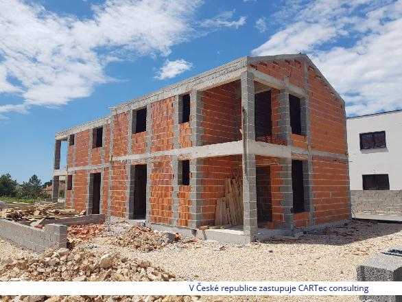 VRSI - Dům ve výstavbě - 450m od moře