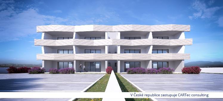 NIN / Ždrijac - Prodej apartmánů - 30 m od moře