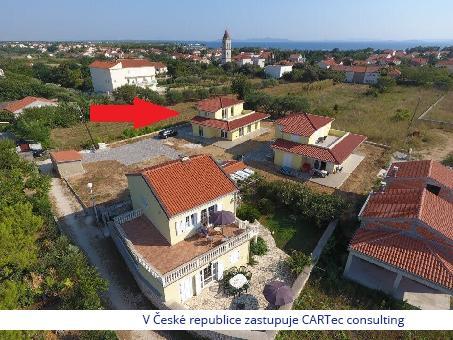 PRIVLAKA - Novostavba rodinného domu 50 m od moře