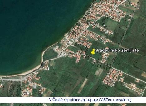 VRSI - Prodej stavebního pozemku 400 m od moře a pláže