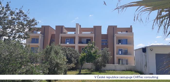 NIN / ŽDRIJAC - Prodej apartmánu se střešní terasou a překrásným výhledem na moře - 20 m od pláže