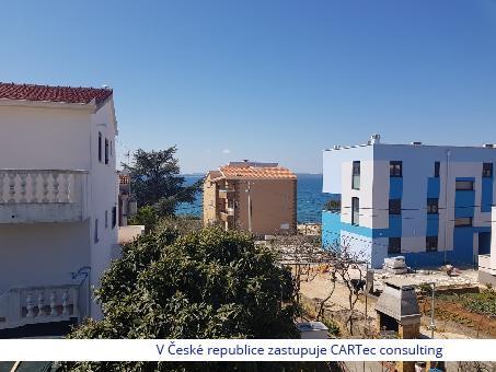 PETRČANE - Prodej apartmánů u moře
