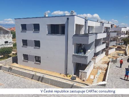 NIN / ZATON - Prodej dvoupodlažního apartmánu v novostavbě