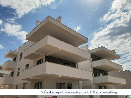 ZADAR/BORIK - Byt v přízemí novostavby s výhledem na moře