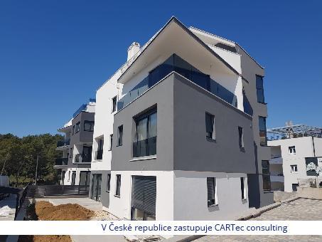ZADAR/PETRIĆI - Prodej podkrovního bytu s terasou