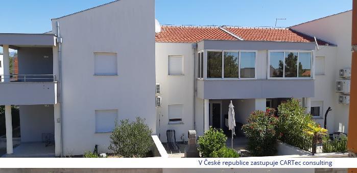VRSI / MULO - Prodej zařízeného apartmánu se 2 ložnicemi - 400 m od moře