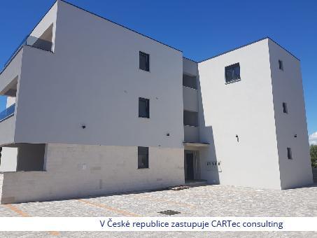 NIN/ZATON - Prodej mezonetového bytu s terasou - 150 m od moře