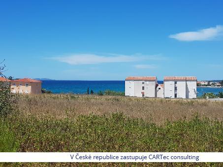 PRIVLAKA - Prodej stavebního pozemku o rozloze 750 m2 - 250 m od moře