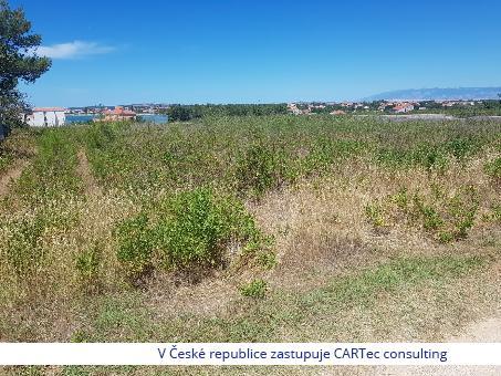 PRIVLAKA - Stavební pozemek 751 m2 - 300 m od moře