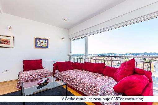 ZADAR/Višnjik  -  Prodej mezonetového bytu s výhledem na moře