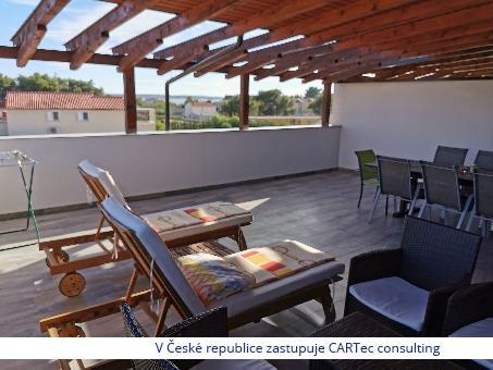 VRSI / MULO - Prodej mezonetového apartmánu s výhledem na moře - 400 m od moře