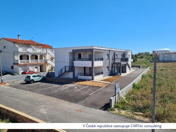 NIN / ZATON - Prodej apartmánu se 2 ložnicemi - 400m od moře