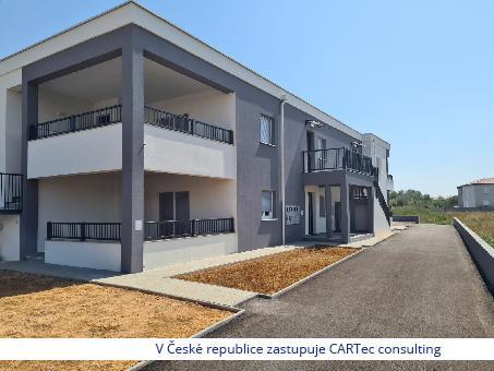 NIN / ZATON - Prodej apartmánu se 2 ložnicemi - 500m od moře