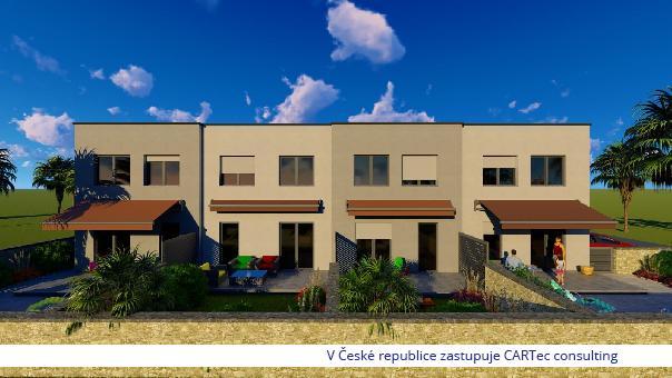 VRSI / MULO - Prodej mezonetového bytu se 3 ložnicemi a zahradou (70m2) - 250 m od moře