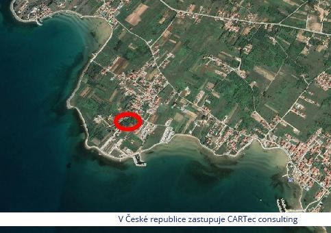 Privlaka - Prodej stavebního pozemku 200 m od moře
