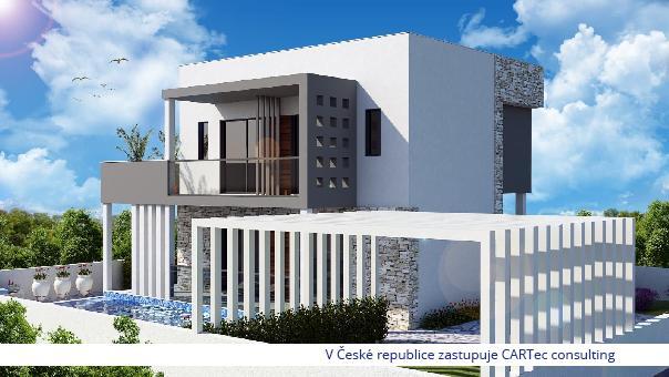 VIR - Prodej luxusní vily s bazénem - 30 m od moře
