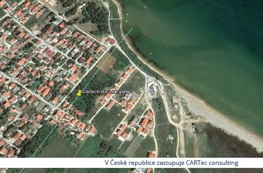 NIN / Ninske Vodice - Prodej stavebního pozemku 2696 m2 - 170 m od moře
