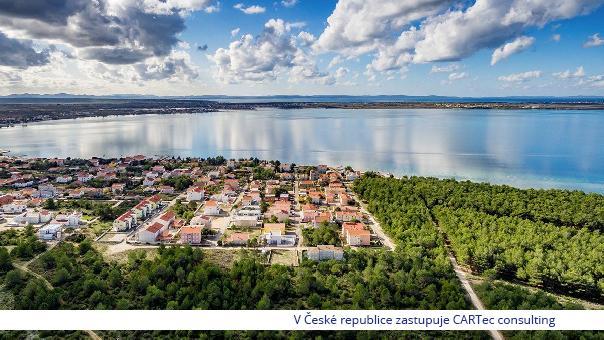 VRSI / MULO - Prodej stavebního pozemku - 400 m od moře